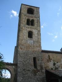 Pieve a Ponte allo Spino, il campanile