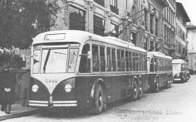 """1 aprile 1951 si inaugura la linea filoviaria""""L"""" dalla Stazione a via Carlo del Prete (zona industriale)"""
