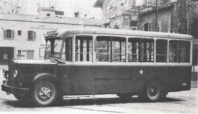 1938 - Autobus FIAT 635 RNL con motore a gasolio