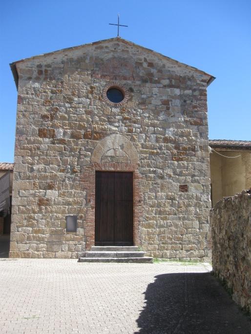 Murlo la chiesa di San Fortunato