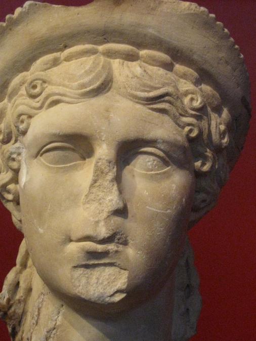 Museo di Luni, testa di donna