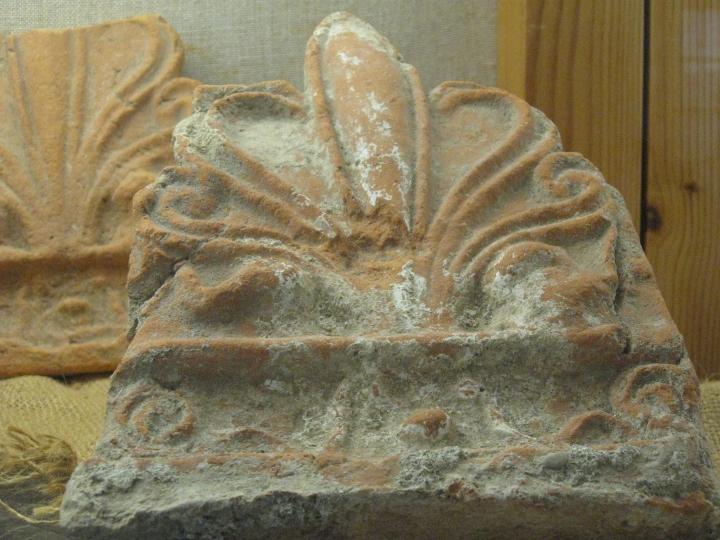 Museo di Luni, decorazioni fittili