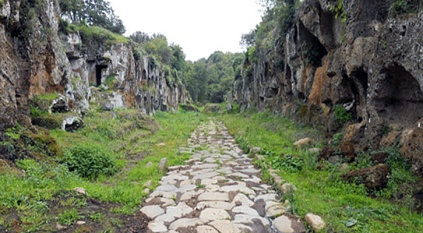 La Clodia dei pressi di Blera, bassa Etruria