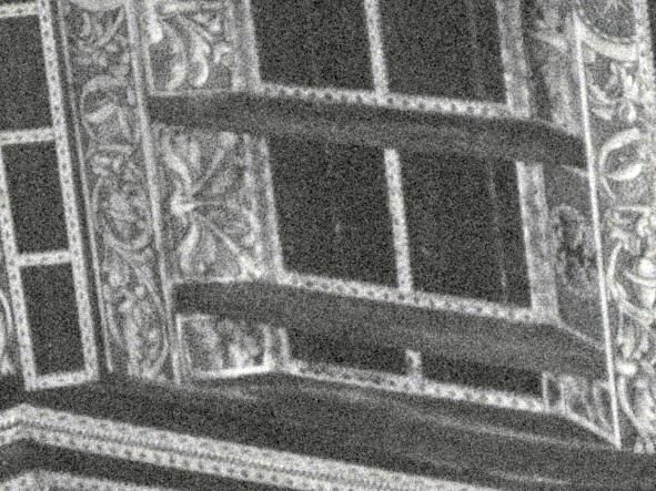Particolare del soffitto lineo
