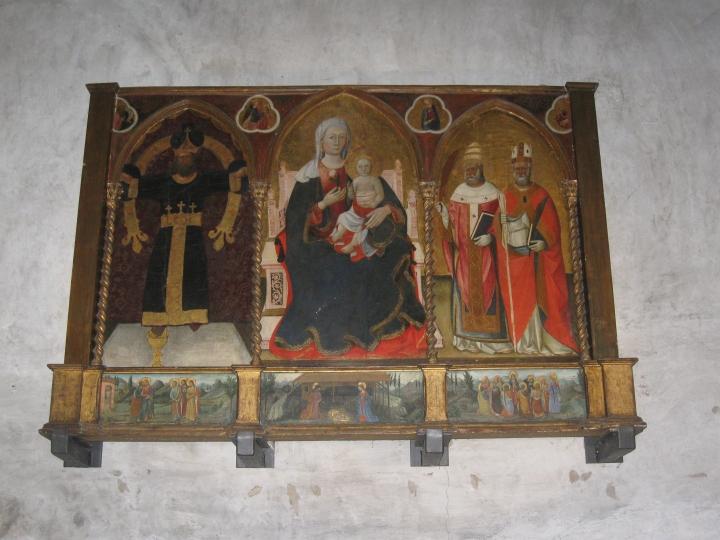 Polittico attribuito al pittore senese Puccinelli