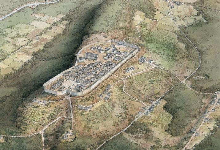 Poggibonsi, Ricostruzione del villaggio di Poggio Bonizio 1155 (Poggibonsi)
