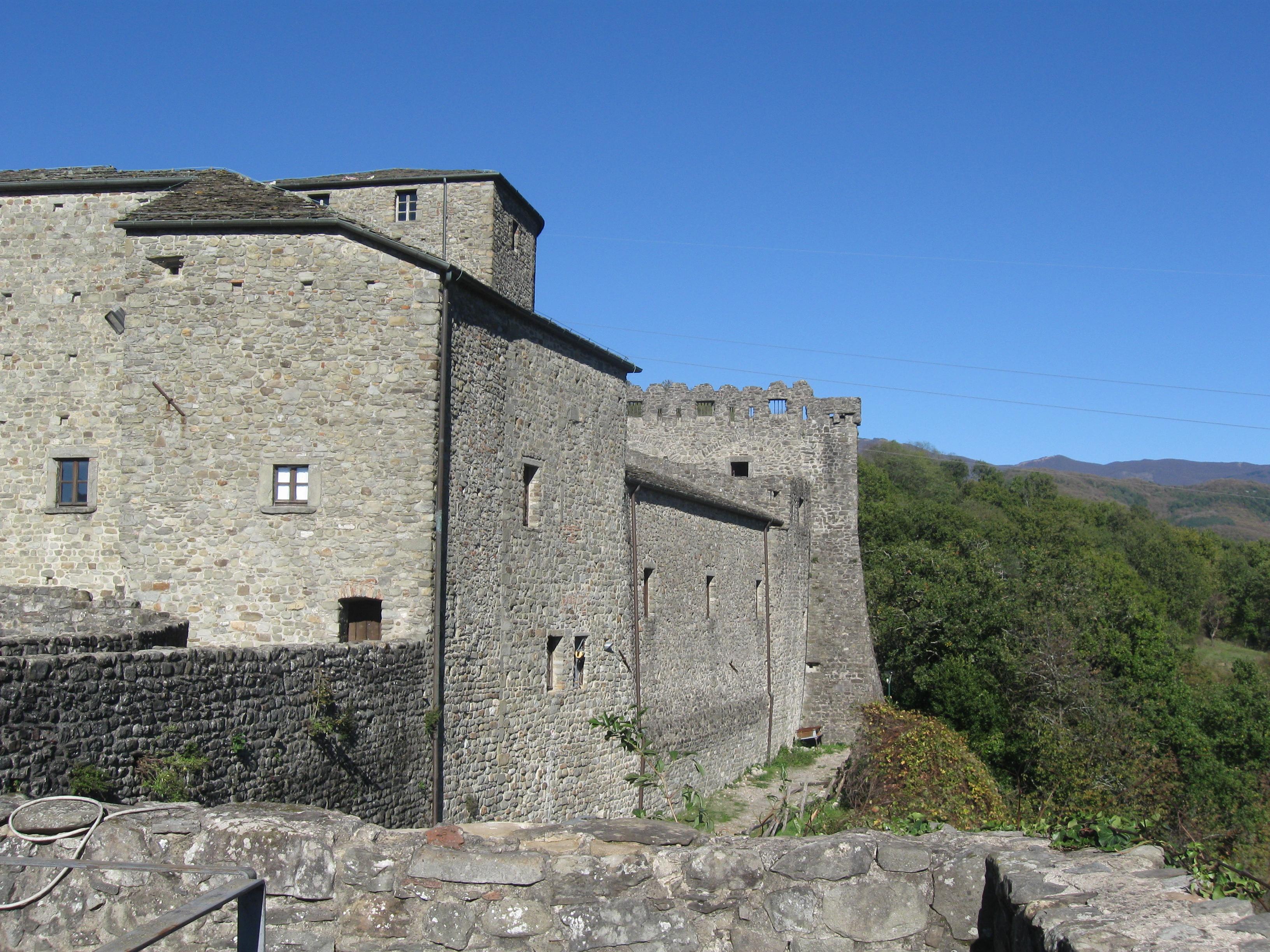 Pontremoli, il castello del Piagnaro, uno scorcio