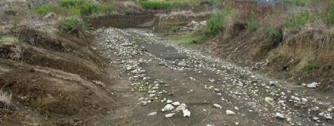Gonfienti, il tratto di strada etrusca