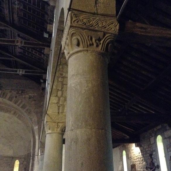 Codiponte particolare delle colonne