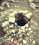 Resti di edifici romani nella piana di Sesto