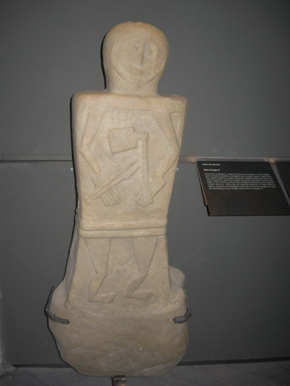 Una stele tra le più recenti