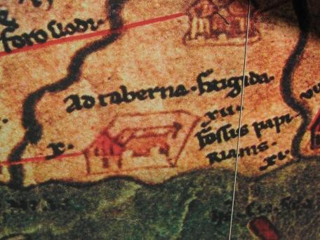 Tavola Peutingeriana, particolare