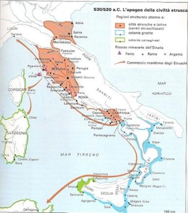 Apogeo della civiltà etrusca