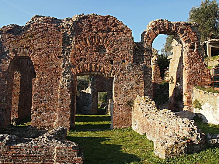 Massaciuccoli romana, i resti di un impianto termale del I secolo