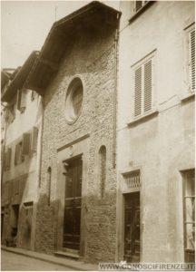 Oratorio Santa Maria Vergine della Croce al Tempio in via San Giuseppe 1900