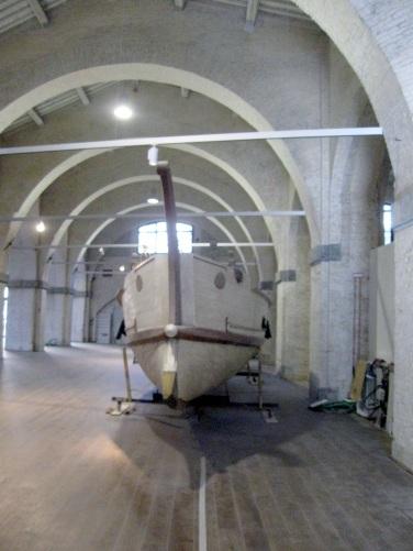 Museo delle navi antiche di Pisa, la nave C