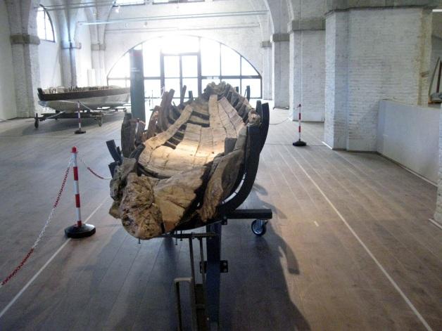 Museo delle navi antiche di Pisa, il barchino F