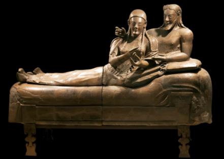 Sarcofago degli sposi (520 a.C.)