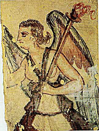 Vanth divinità femminile del mondo degli Inferi (Tarquinia)