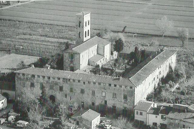 Abbazia di San Savino, foto dall'alto (originale a questo link)