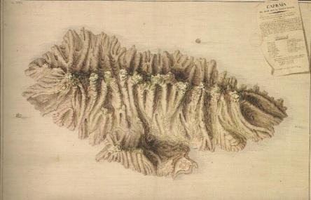Carta di Capraia del XVIII secolo