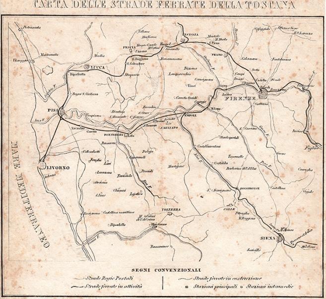 Le ferrovie toscane al tempo di Leopoldo