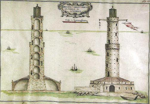 Il faro di Livorno (Annibale Cecchi sec. XVII)