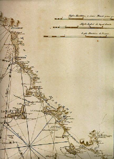 Litorale toscano (Giuseppe Guerra 1785)
