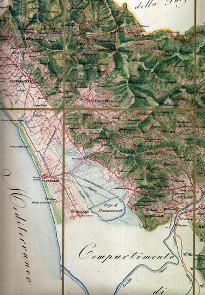 Territorio di Lucca 1851