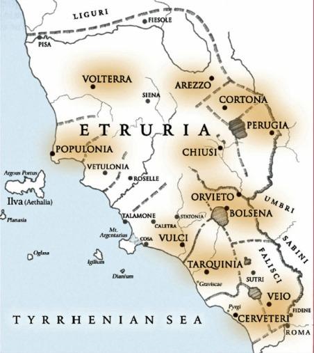 Etruria romana e preromana (parte seconda) | tuttatoscana