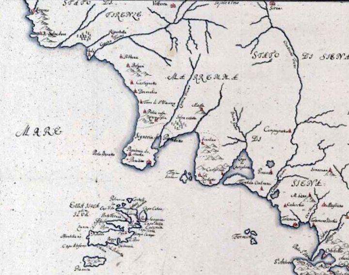 Costa Tirrenica Toscana Cartina.Antiche Mappe Di Localita Toscane Tuttatoscana